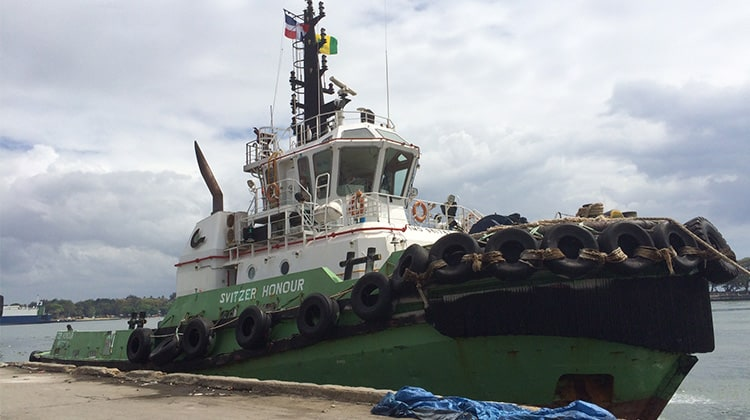 Ship Delivery TOS Svitzer Honour