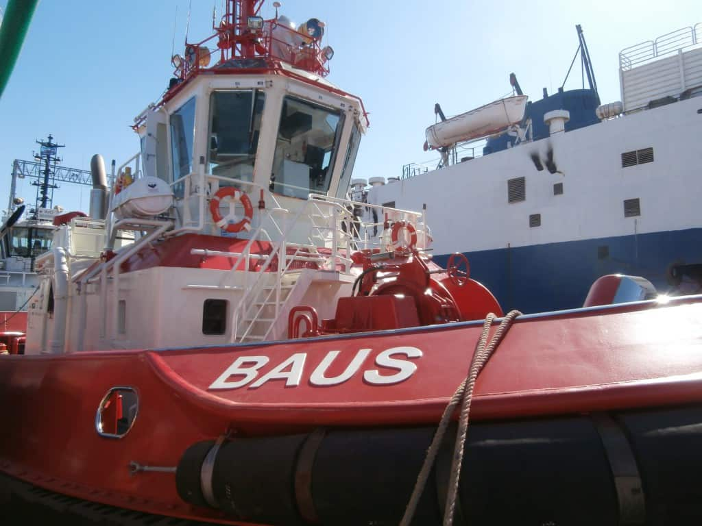 Ship delivery Baus