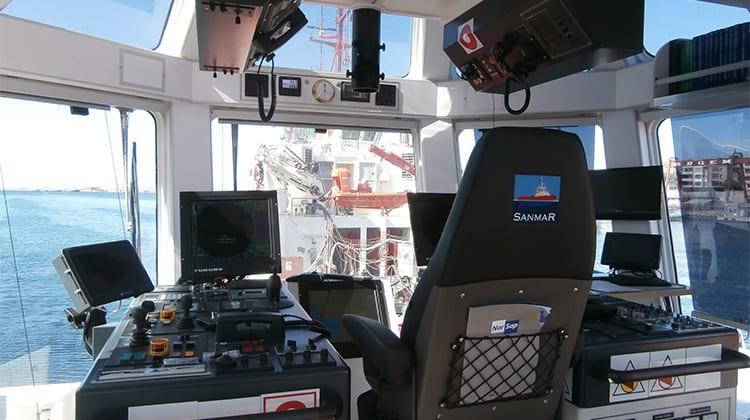 Ship Delivery TOS Busker Baus tug