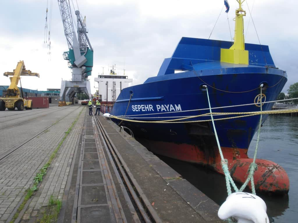 Ship delivery Sepehr Payam