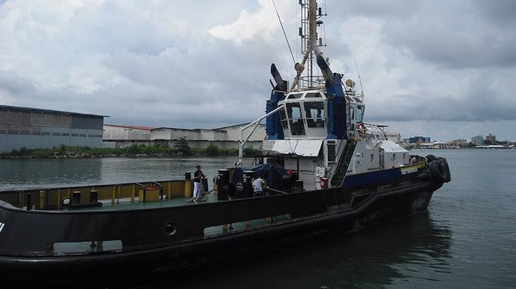 Ship Delivery TOS Smit Manzanillo tug
