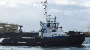 Ship Delivery Tug Smit Venta TOS