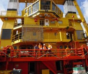 Ship Delivery Teck Ocean Spirit