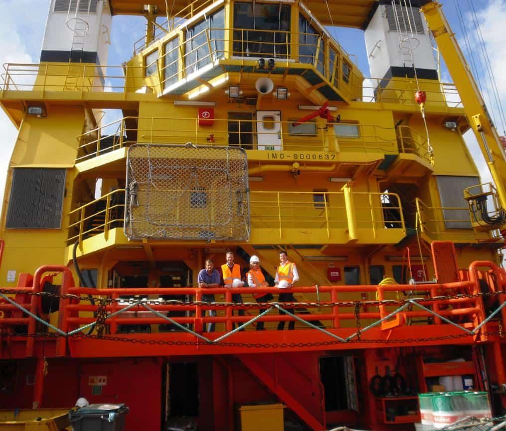 Ship Delivery Tek Ocean Spirit