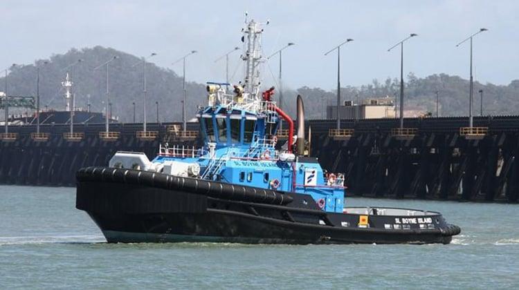 sailing sl boyne island ship delivery TOS
