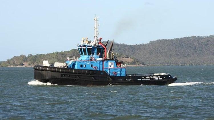 sailing sl heron island ship delivery TOS
