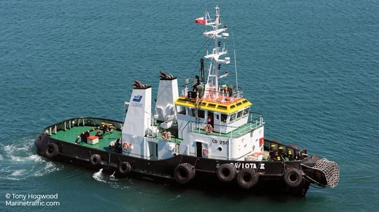 sailing saam nicoya ship delivery TOS