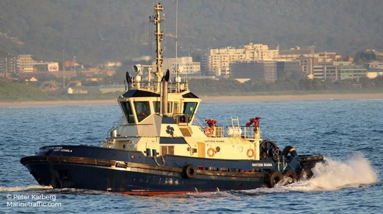 sailing svitzer kiama ship delivery TOS