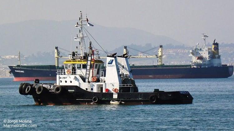 voyage saam nicoya ship delivery TOS