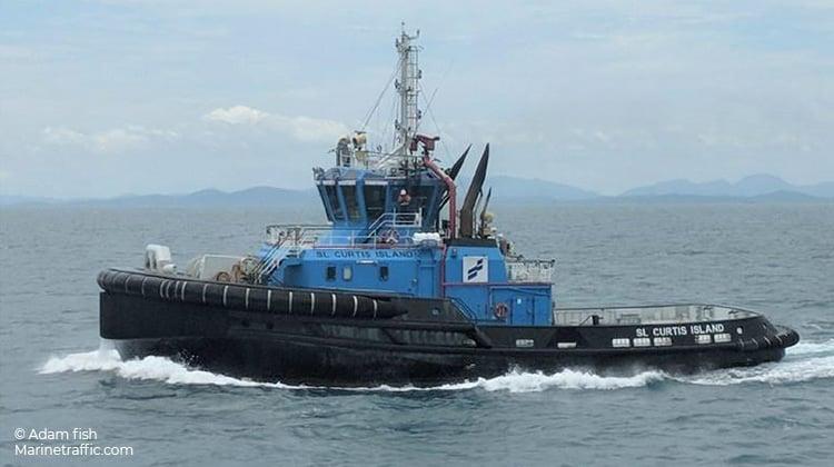 voyaging curtis island ship delivery TOS