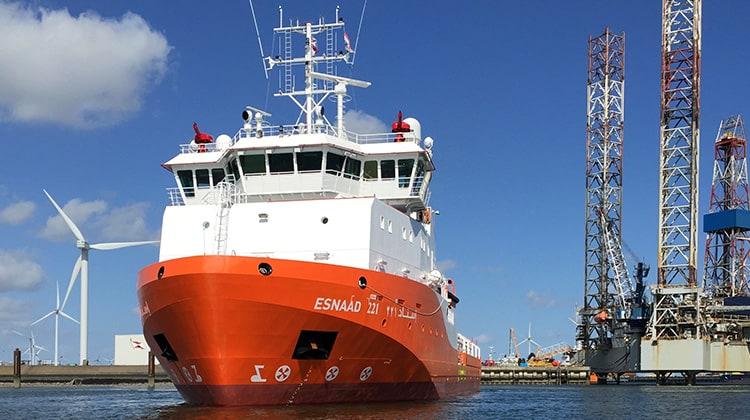 Voyaging esnaad 221 ship delivery TOS