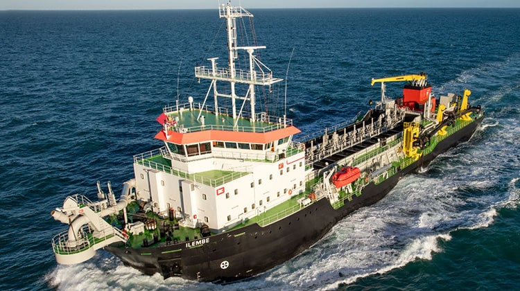 voyage ilembe ship delivery TOS