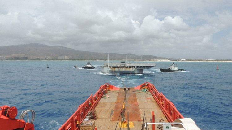 Ship Delivery Double Tow TOS