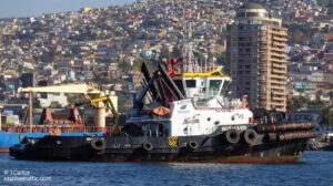 sailing huairavo ship delivery TOS