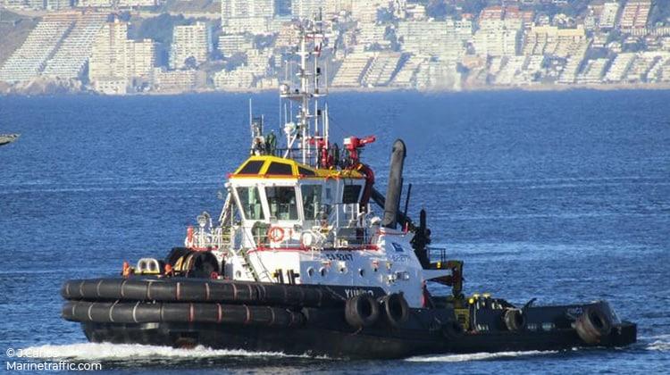 sailing yunco ship delivery TOS