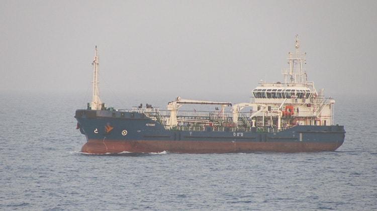 Ship Delivery TOS Petromar
