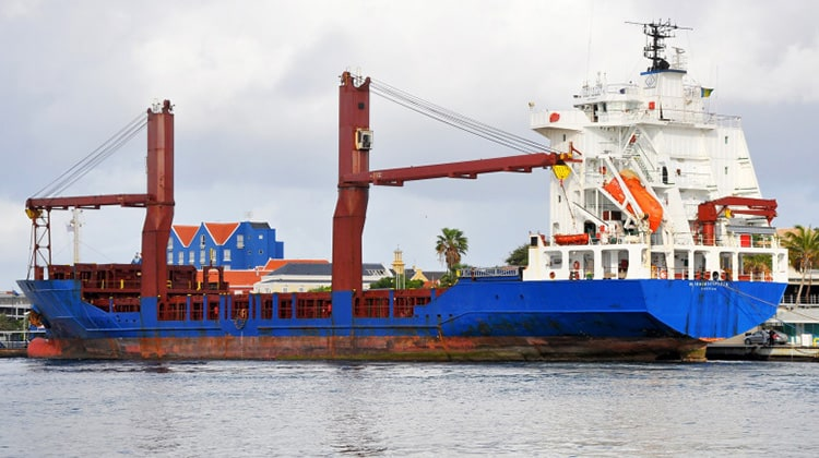 harbour alianca del plata ship delivery TOS