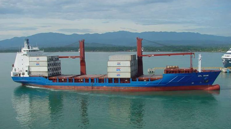 sailing alianca del plata ship delivery TOS