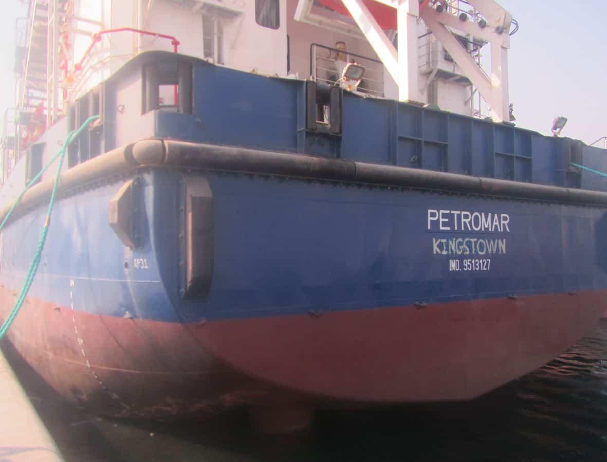 Ship_Delivery_Petromar_TOS