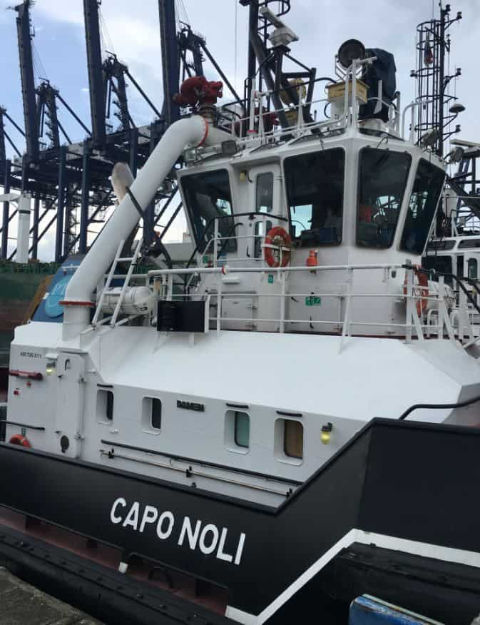Ship Delivery Capo Noli