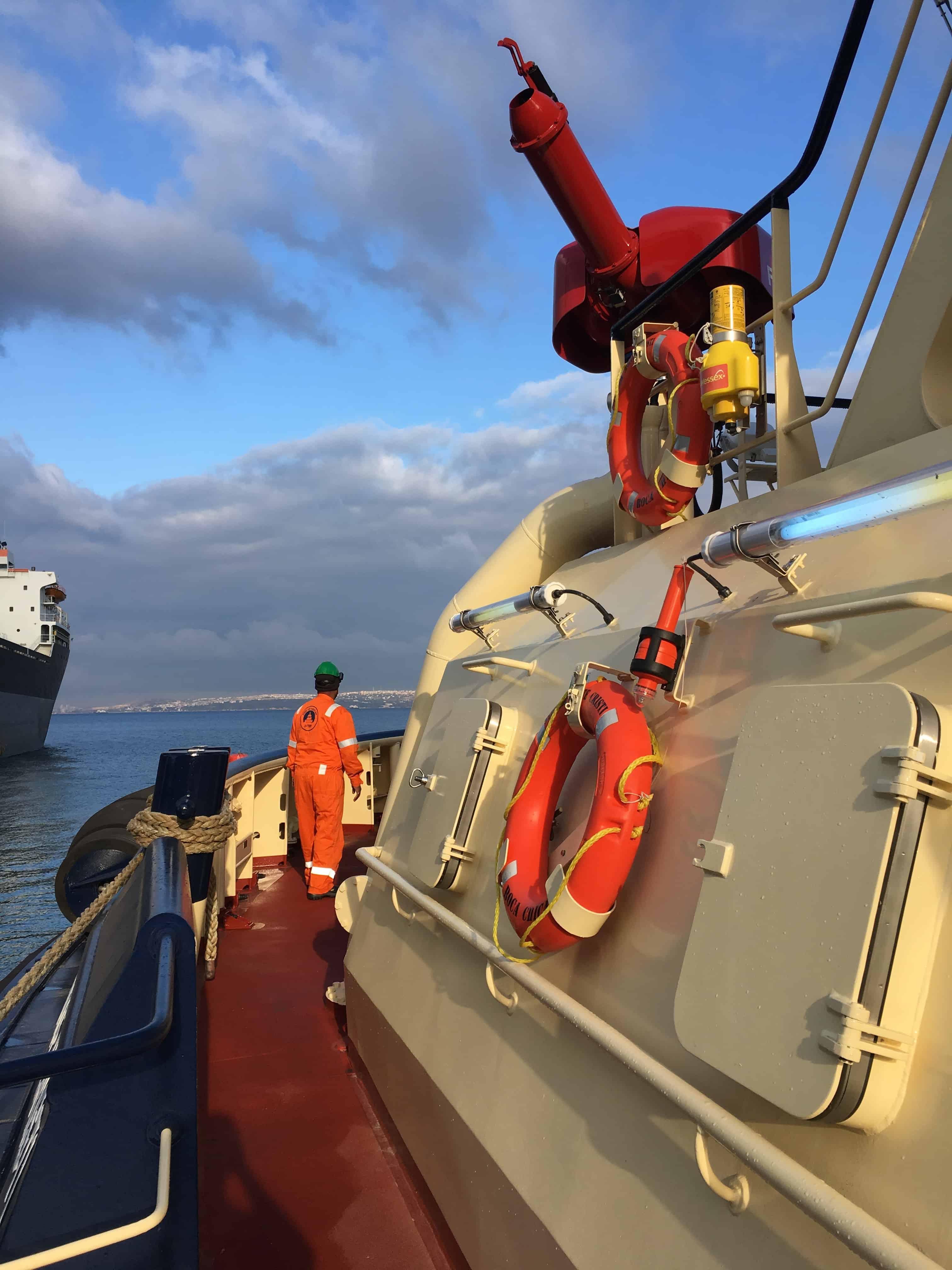 Ship Delivery Svitzer Catuan