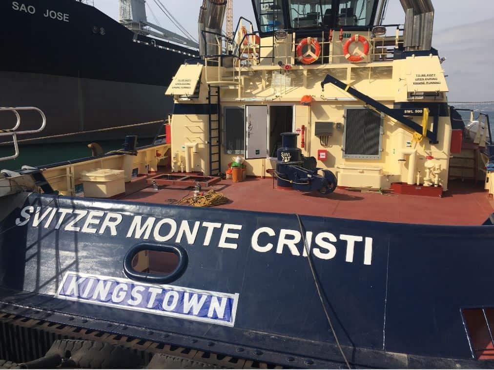 Ship Delivery Svitzer Monte Cristi