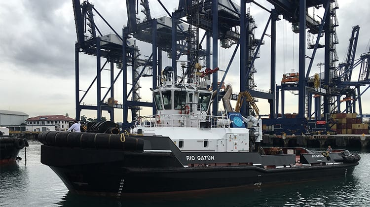 Ship Delivery TOS Capo Noli tug