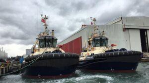 Ship Delivery TOS Monte Cristi tug