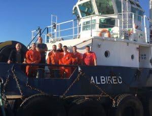 Ship Delivery Albireo