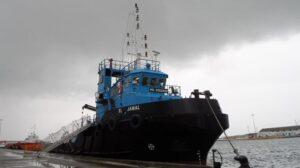 Ship Delivery TOS SL Jamal tug