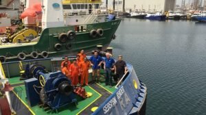 Ship Delivery TOS Seaspan Raider tug