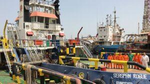 Ship Delivery TOS Seaspan Rogue tug
