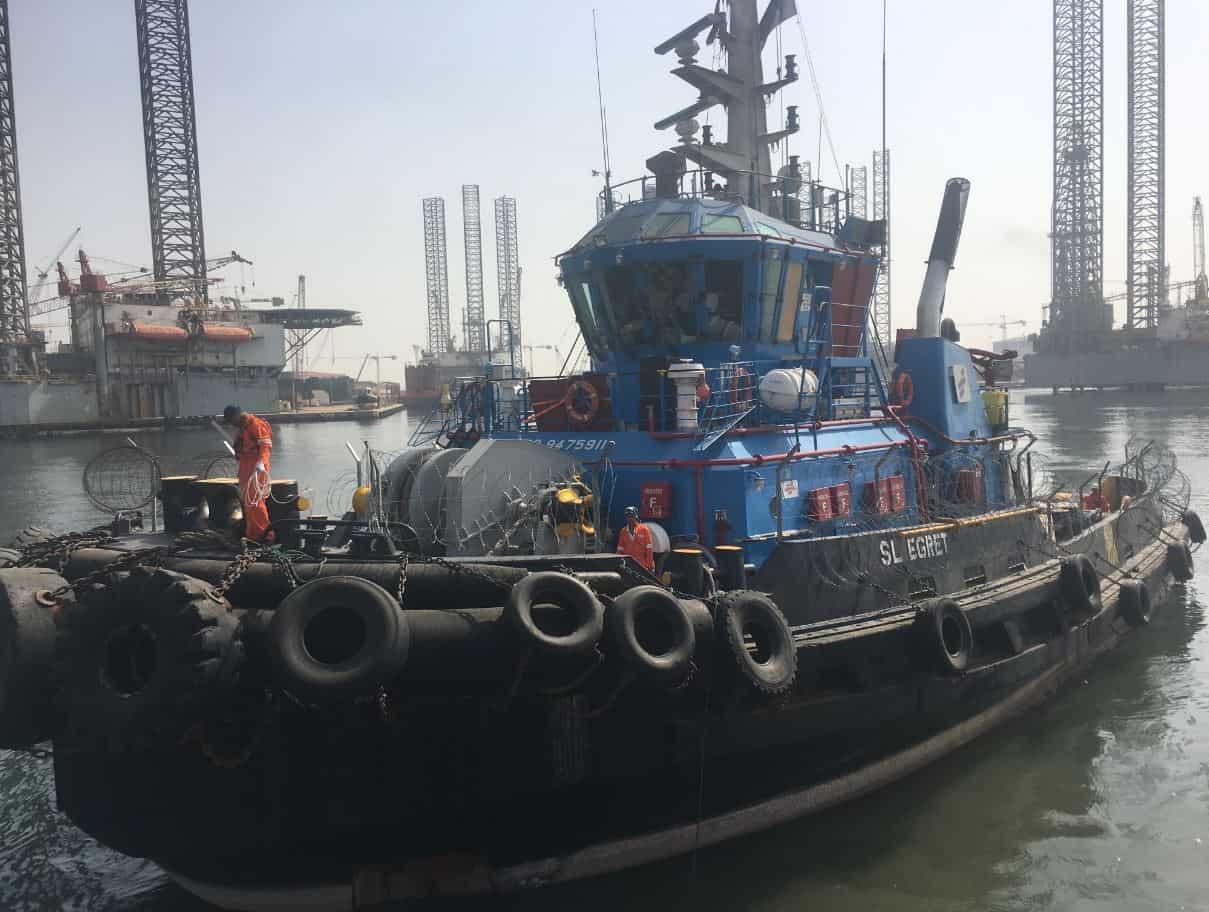 Ship Delivery SL Egret TOS