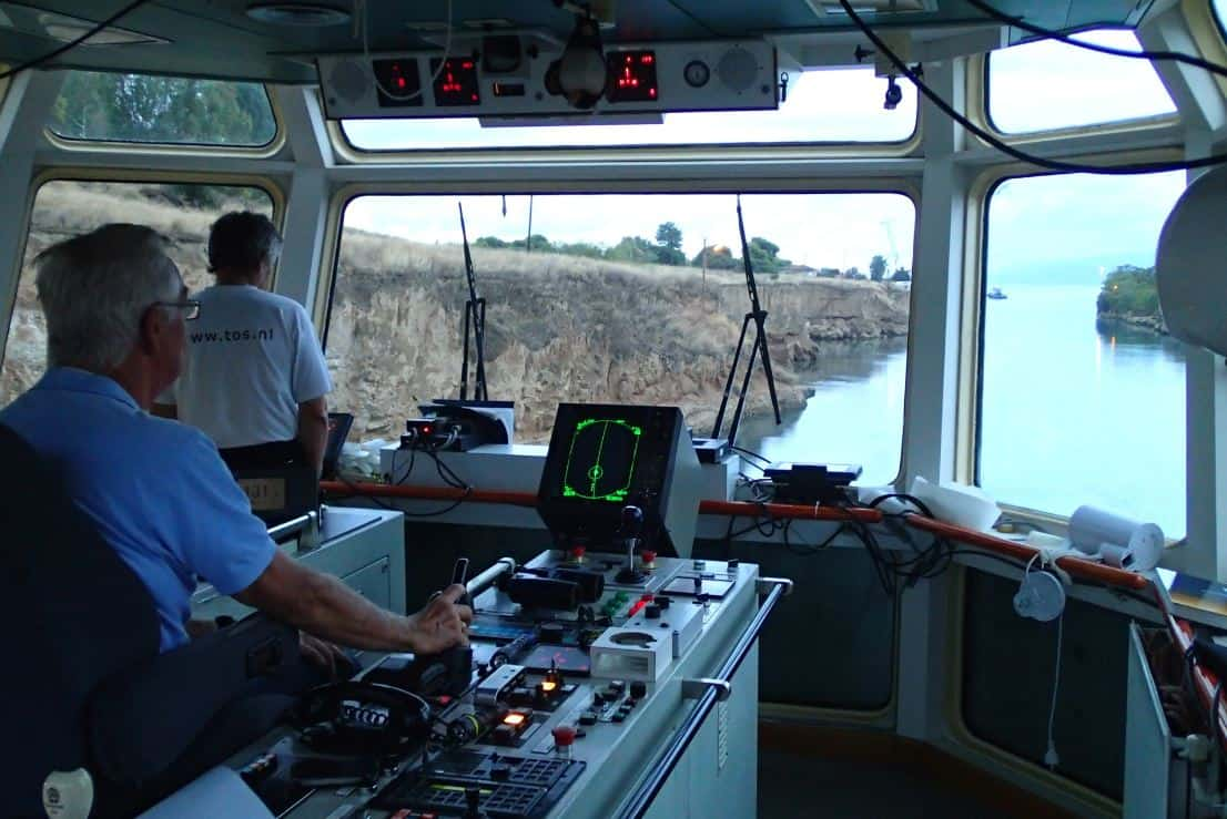 Ship Deliver Svitzer Simson TOS