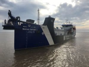 Ship Delivery Mahaa Jarraafu TOS