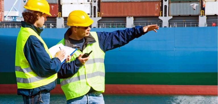 Marine Surveyor Sea2Shore Job TOS