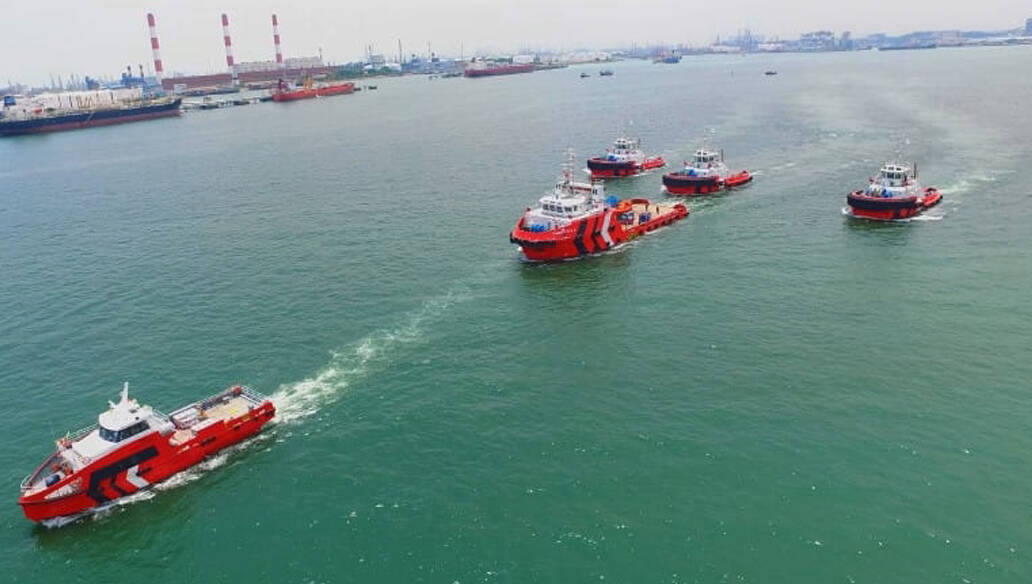Five Delivery Vessels TOS