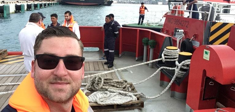 Myron Ship Delivery Crew TOS