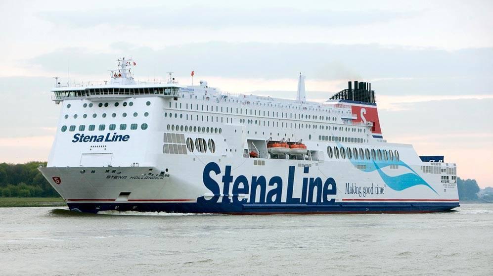 Stena Hollandica Harwich TOS