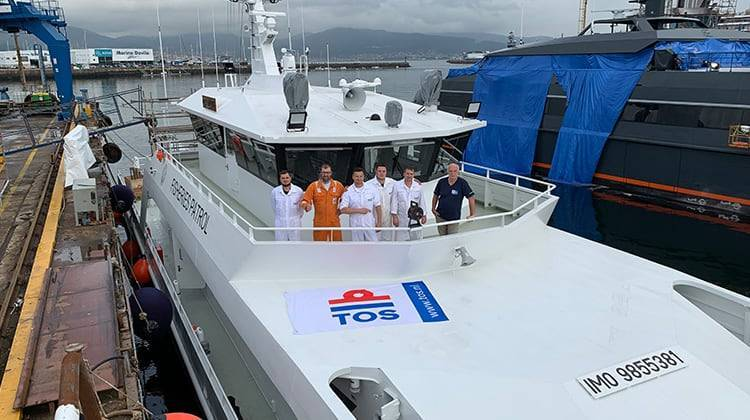 Crew SABAH Ship Delivery TOS