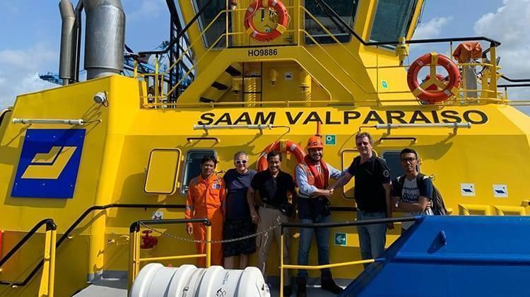 Ship Delivery Crew Saam Valparaiso TOS