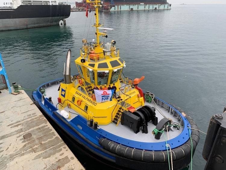 Ship Delivery Saam Valparaiso TOS