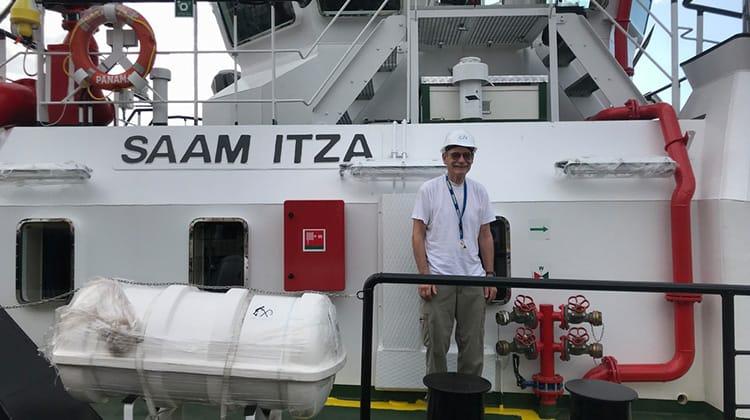Ship Delivery TOS SAAM ITZA crew
