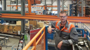 Sea2Shore Foreman Jochem TOS