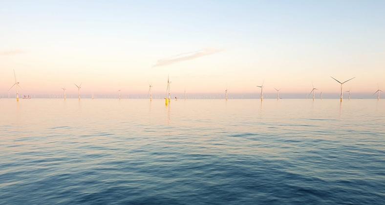 Beautifull-offshore-windpark