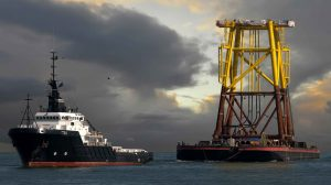 Stuurman haven en offshore sleepdiensten