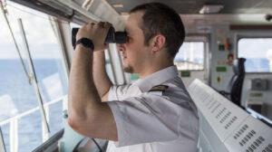 Trainingskapitein Stan Patrol vessel