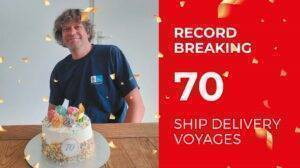 Captain Bart Ship Delivery 70 Record TOS