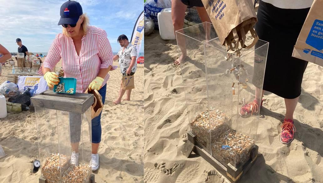 Sigaretten Boskalis Beach Cleanup TOS